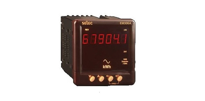 Đồng hồ đo điện năng EM306A – Selec