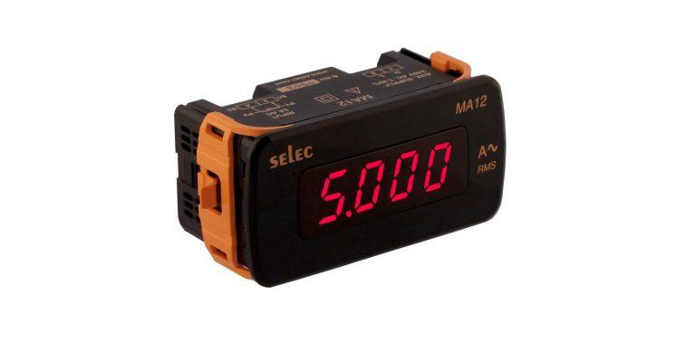 Đồng hồ đo dòng điện MA12 – Selec