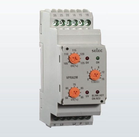 Rơ le bảo vệ điện áp VPRA2M – Selec