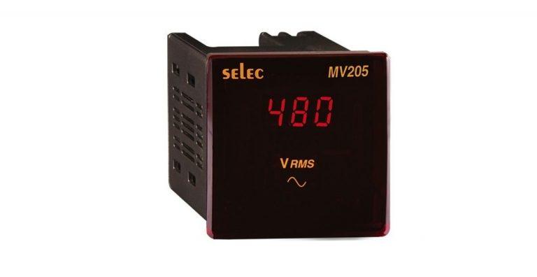 Đồng hồ đo điện áp MV205 – Selec