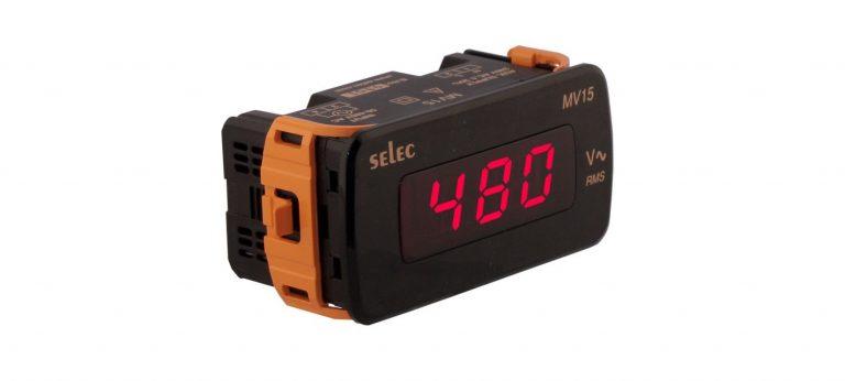 Đồng hồ đo điện áp MV15 – Selec