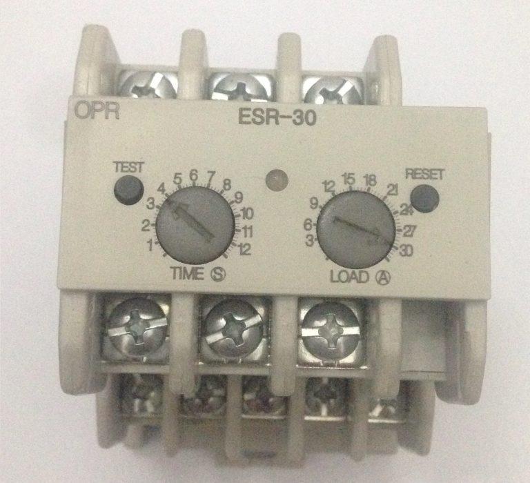 Rơle điện tử thay thế rơle nhiệt để bảo vệ motor