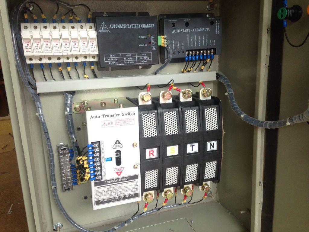 Tủ điện ATS 4P 400A KyungDong - diencongnghiephcm.com