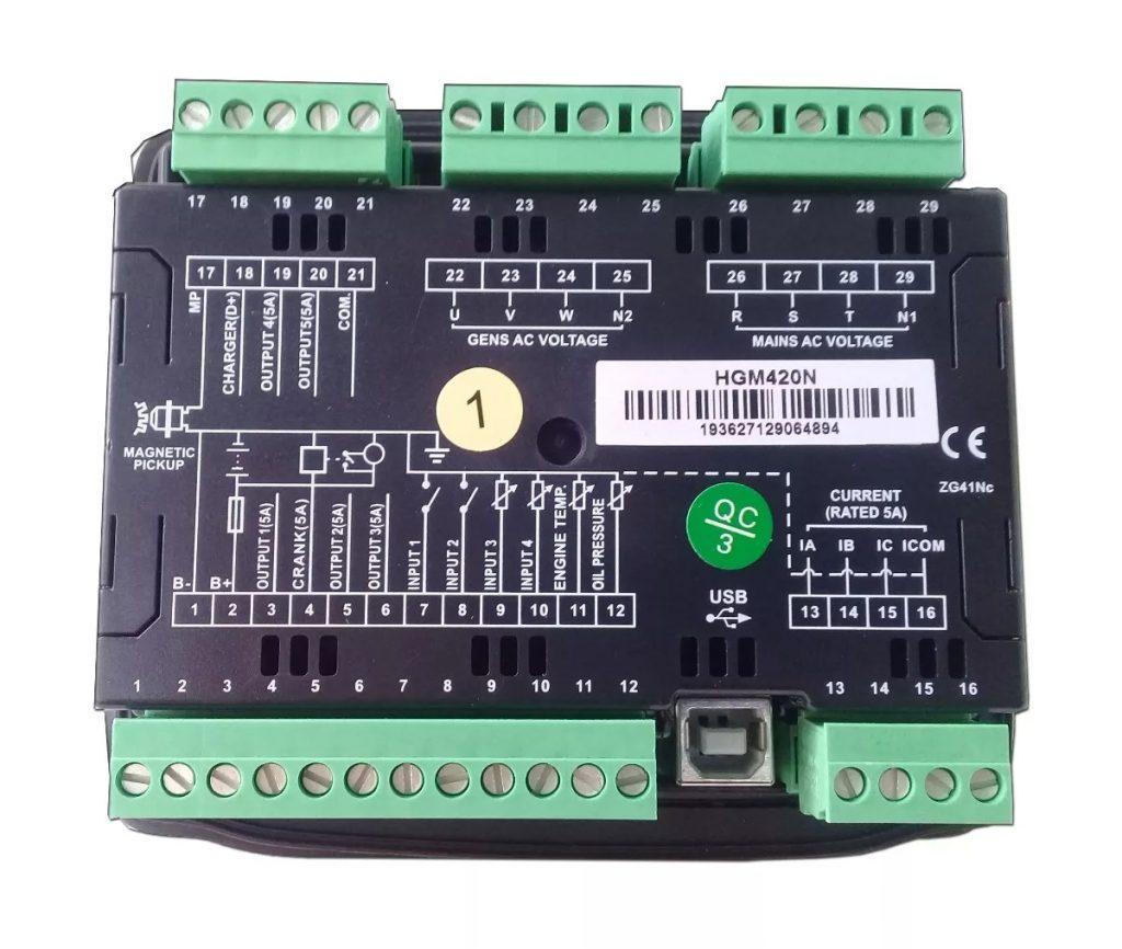 Bộ điều khiển máy phát điện HGM420N