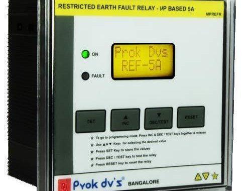 Cách cài đặt relay bảo vệ chạm đất MPEF-SPL – Prok – Ấn Độ