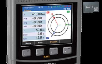 Đồng hồ phân tích điện năng MULTISER-21-PC-TFT – Kael