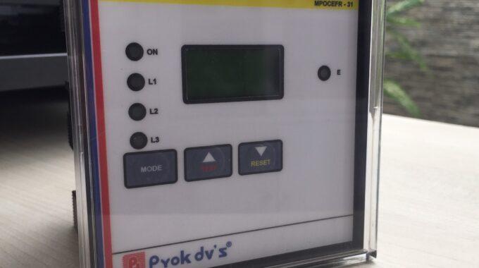 Hướng dẫn sử dụng Relay MPOCEFR của hãng Prok – Ấn Độ